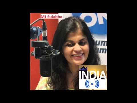 MJ Sulabha-Chennai- Radio India Show One Worldwide Digital Stream 05-25-15