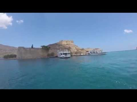 Spinalonga Island.  Leper Colony 2016. Kreta, Creta.
