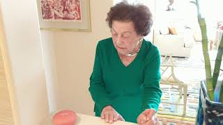 learning google home grandma ruths 103rd birthday present