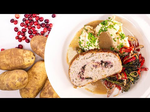 How To Make Pilgrim-Style Rolled Turkey Meatloaf By Rachael