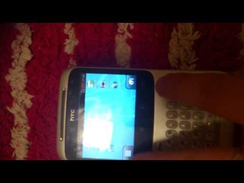 How to screen shot a HTC cha cha