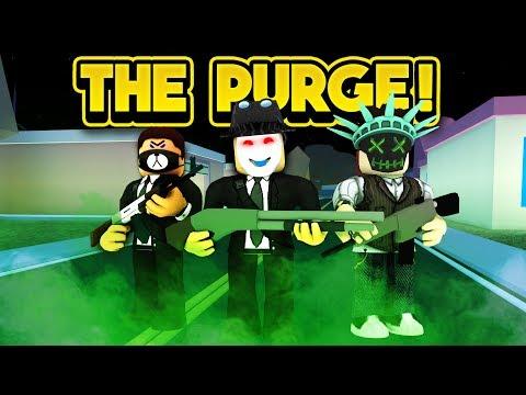 THE PURGE IN JAILBREAK! (ROBLOX Jailbreak)