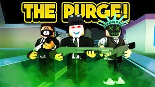 THE PURGE IN JAILBREAK! (ROBLOX Jailbreak)