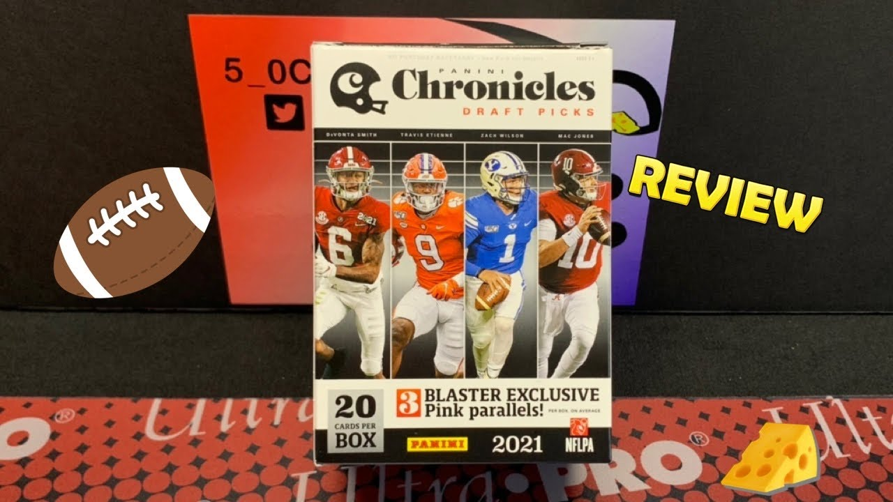 2021 Chronicles Draft Picks Blaster Box - Exclusive Pink Parallels
