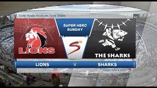 Super Hero Sunday | Lions vs Sharks | Highlights