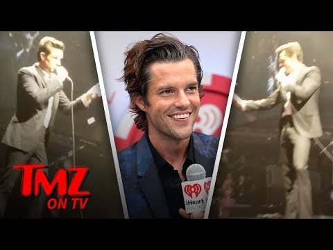 The Killers Kill A Fight In Their Crowd | TMZ TV