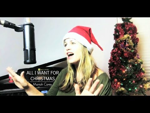Mariah Carey - All I Want For Christmas  ( cover by gilli moon )