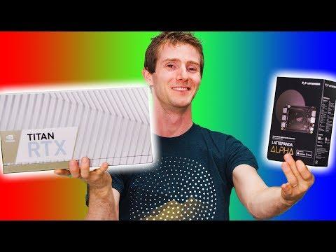 The Biggest Bottleneck EVER? LattePanda RTX Titan