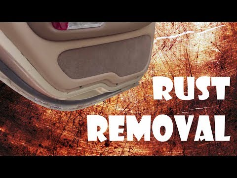 Removing Rust From Car Door Jams To Prevent Rust Spread