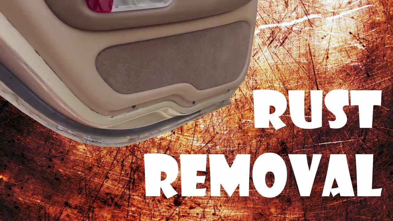 Remove Rust From Car Door