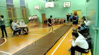 Акробатические прыжки 7-8 классы