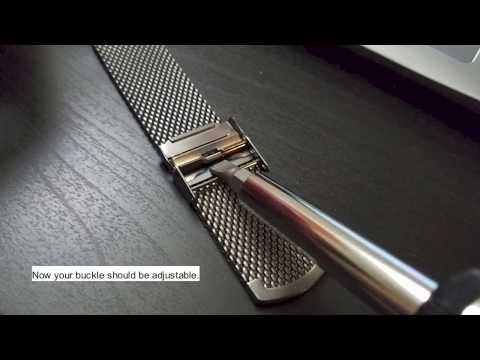 How to adjust Fossil Q Commuter Watch Band