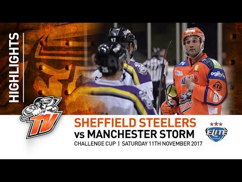 Sheffield Steelers v Manchester Storm - Challenge Cup - 11th November 2017