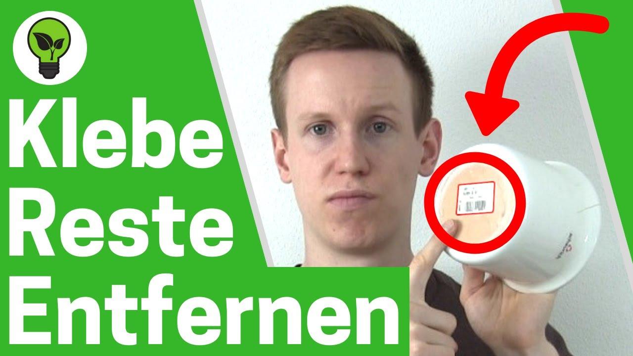Klebereste Entfernen Top Anleitung Aufkleber Bzw Etiketten Kleber Kleberückstände Lösen