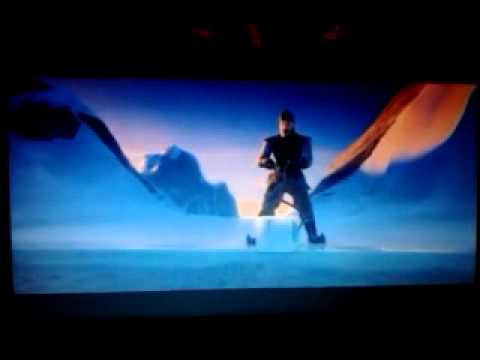 Frozen, the iceman song, movie scene