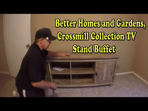 Better Homes and Gardens, Crossmill Collection TV Stand Buffet Review