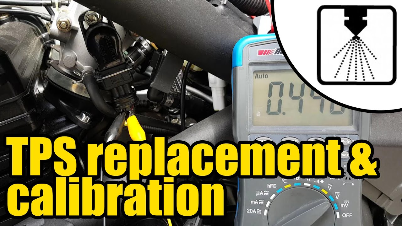 small resolution of how to install calibrate a new throttle position sensor tps 1208