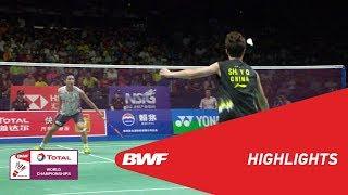 TOTAL BWF World Championships 2018 | Badminton MS - F - Highlights | BWF 2018