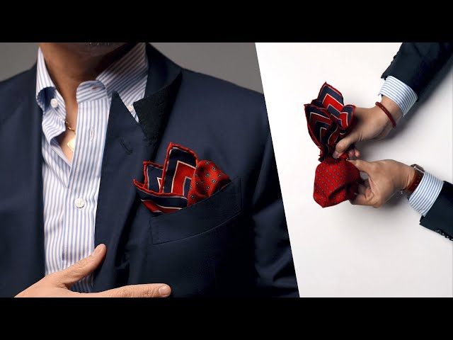 4 Classic Ways To Wear A Pocket Square (+ Instructions) • Effortless Gent