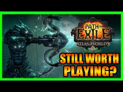 Still Worth Playing Path of Exile? ARPG Chat with New Atlas of Worlds Gameplay Part 2 of 2