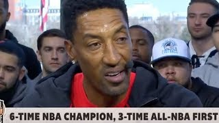 Scottie Pippen TRASHES Lebron James 'He's Not What Michael OR Kobe Was As A Player""
