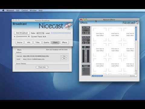 How to Broadcast Audio Using Nicecast