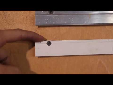 ПВХ или алюминиевый профиль для монтажа натяжного потолка online video cutter com
