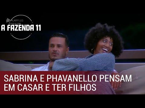 Sabrina e Phavanello pensam em casar e ter filhos