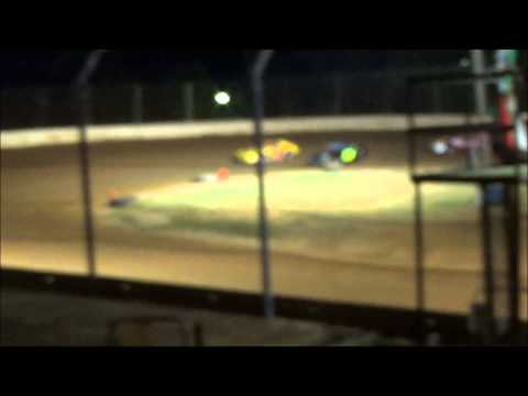 Doe Run Raceway Mini Stock Heat 8-22-14