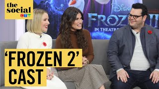 Download lagu How Kristen Bell, Idina Menzel and Josh Gad kept 'Frozen 2' spoilers a secret | The Social