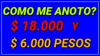 COMO COBRAR $18.000 Y EL BONO DE $6000;Como me anoto? ANSES 2021