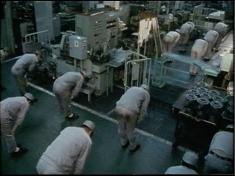 Japanese industry | Japan | TV EYE | 1982