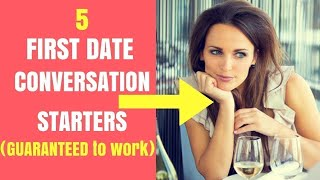 What to Talk About During A Date | 5 First Date Conversation Starters