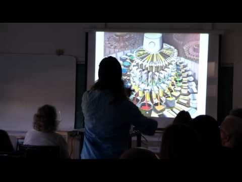 Etienne Zack artist talk at Vancouver Island School of Art
