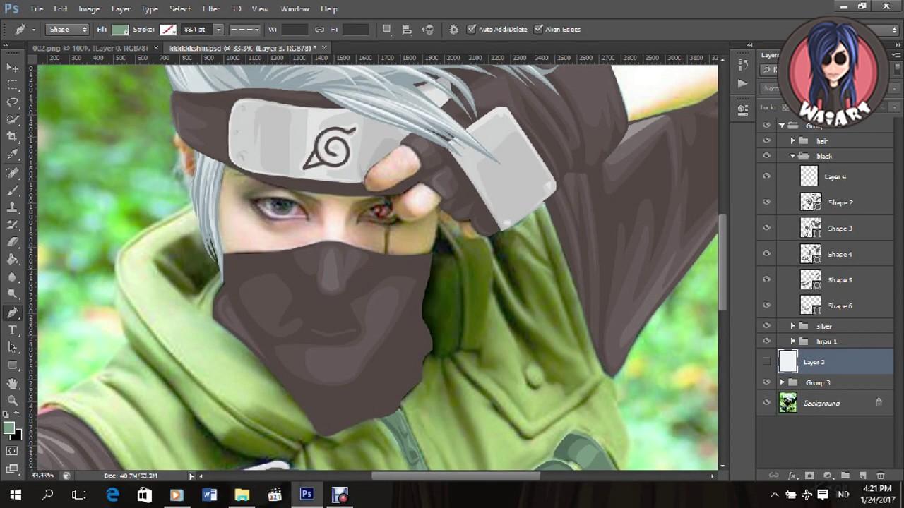 Vexel x vector tutorial speed art using photoshop cs6 hatake vexel x vector tutorial speed art using photoshop cs6 hatake kakashi cosplay baditri Gallery