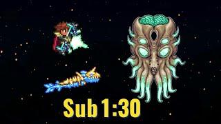 [WR] Terraria Speedrun in 1:28:36 (+All Bosses) - 1.4 NMA Random Seed