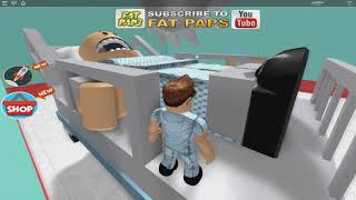 ROBLOX: FLEEING THE SUPER CRAZY HOSPITAL. Habe?! (Flucht im Krankenhaus!)