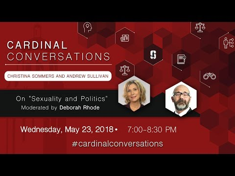 "Cardinal Conversations: Christina Sommers and Andrew Sullivan on ""Sexuality and Politics"""