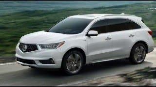 видео Нью-Йорк 2014 – new sedan Acura TLX 2015