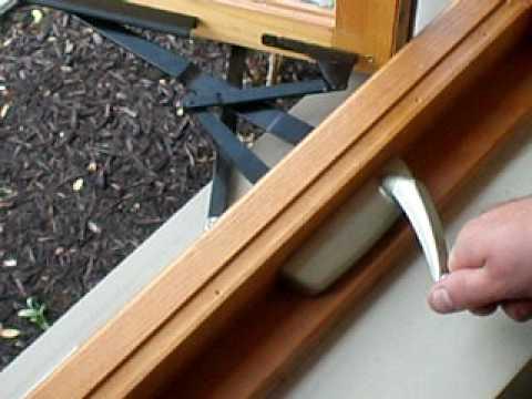 Replace Control Arm Operator Hurd Casement Window Youtube