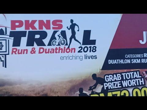 PKNS Trail Run & Duathlon 2018 Day 1 (Flag Off)