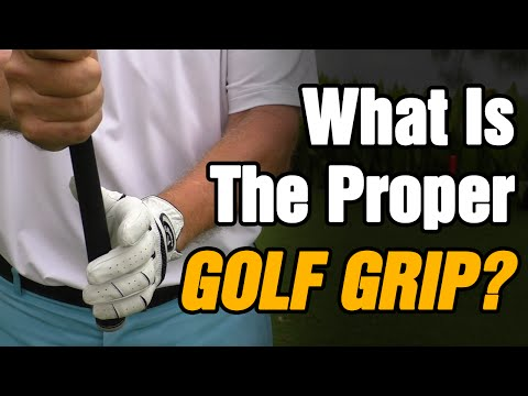 HOW TO HOLD A GOLF CLUB – WHAT IS THE PROPER GOLF GRIP?