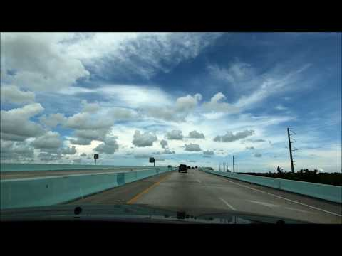 Driving from Miami Beach to Key West Florida