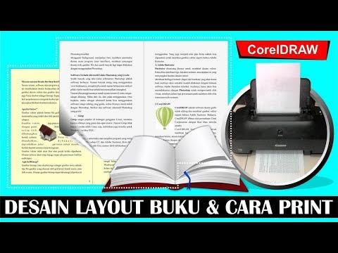 Cara Layout Buat Buku dan Cara Cetak dengan CorelDRAW - Tutorial CorelDraw