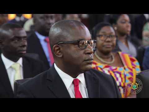 Swearing-In Members of Ghana Investment and Infrastructure Fund Board