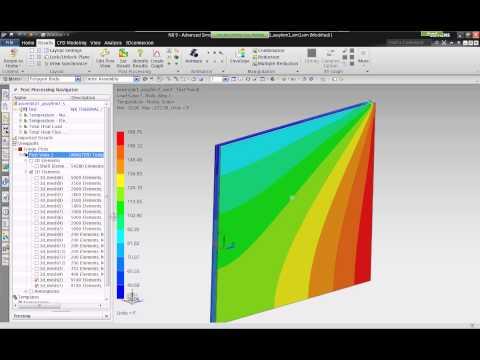Webinar: NX Thermal Flow for Building Enclosures Part 3