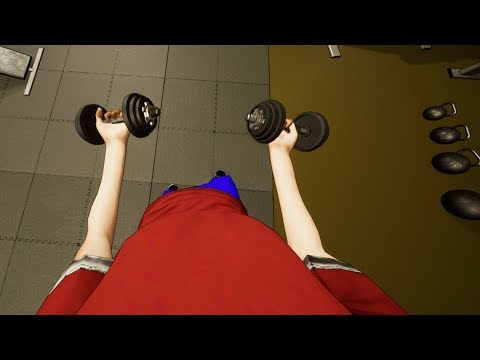 Went to the Gym Once, Got Ripped - Gym Simulator