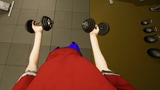 One of GrayStillPlays's most viewed videos: Went to the Gym Once, Got Ripped - Gym Simulator