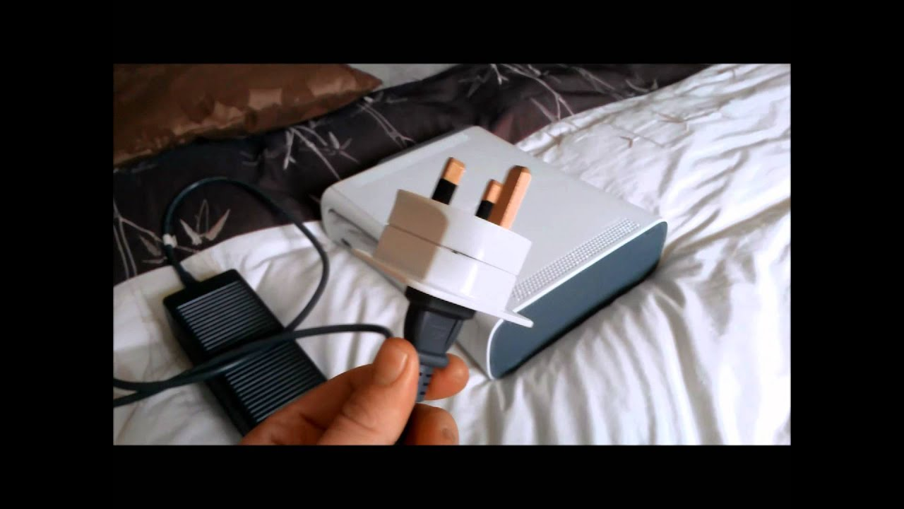 XBOX POWER SUPPLY BLOW UP on