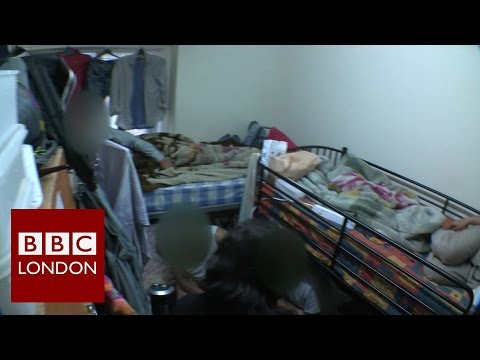 Dangerous overcrowding in London homes – BBC London News
